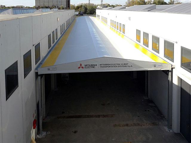 tunnel di collegamento Biroof