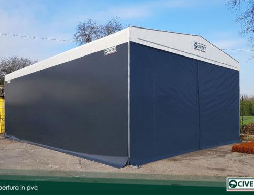 Soluzioni di copertura per le officine meccaniche con i capannoni in telo