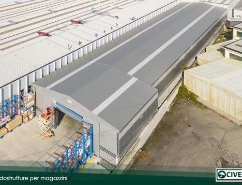 Anche BMP Europe ha scelto i capannoni mobili in pvc della Civert