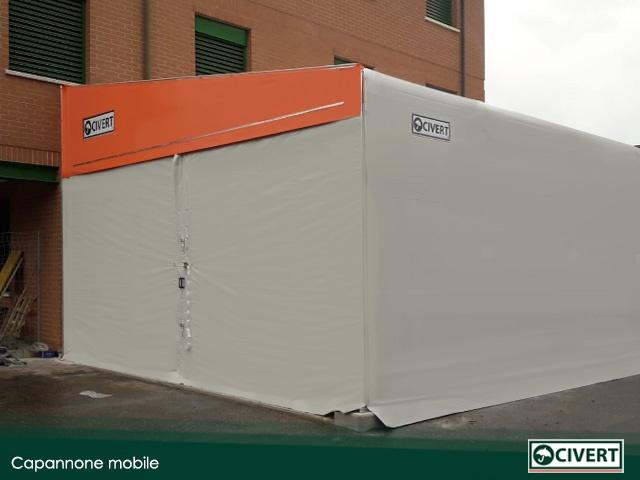 capannone mobile associazione volontariato
