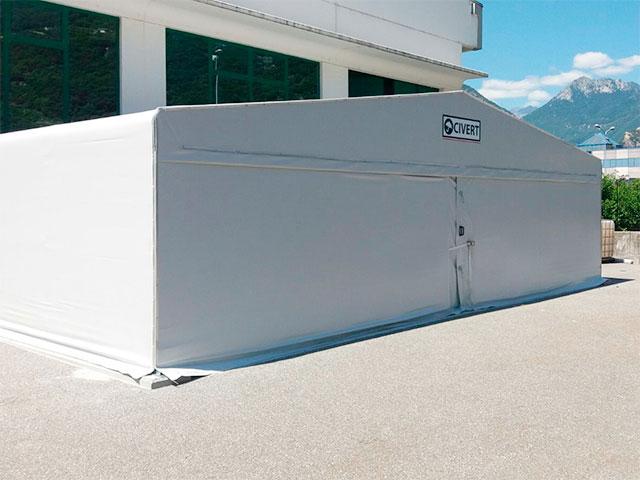 capannoni mobili frontali