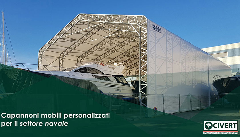 capannoni mobili porti navali aeroporti