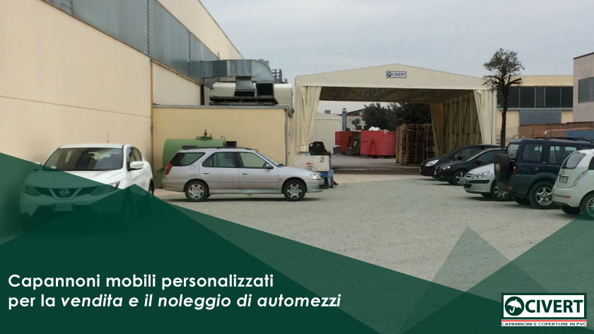coperture parcheggio auto