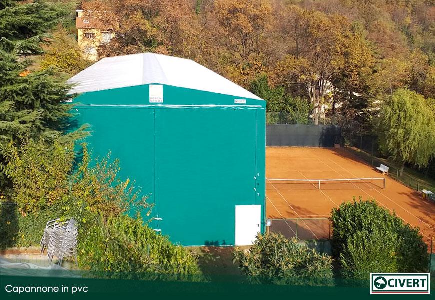 Nuovo capannone in pvc Civert