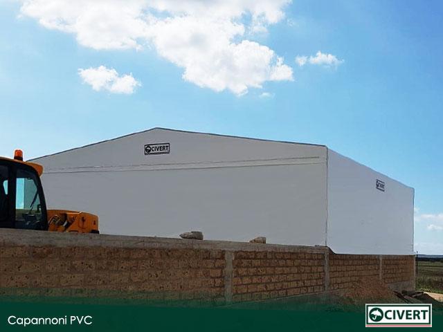 capannone pvc viterbo
