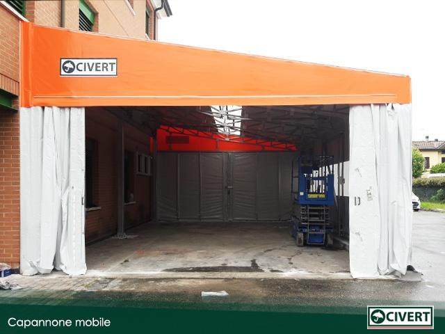 chiusure capannone mobile a Montecchio