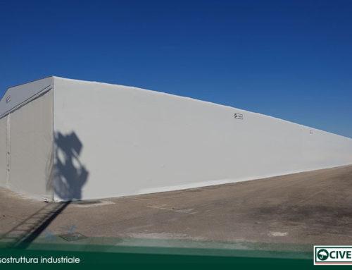 Nuova tensostruttura industriale per Panaria Group