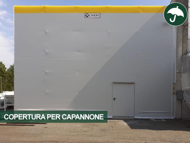 copertura per capannone Civert