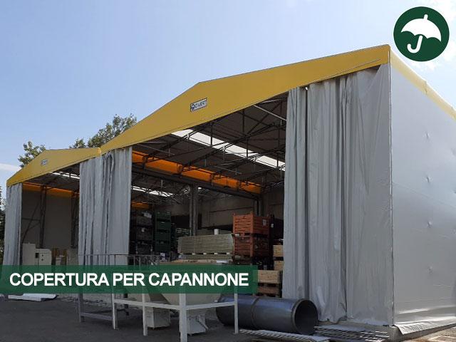 copertura per capannone nuova zincorotostatica
