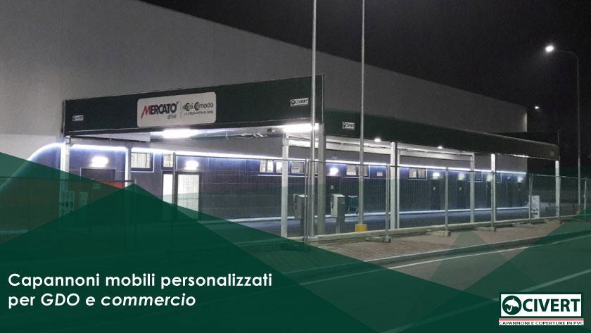 capannoni per supermercati