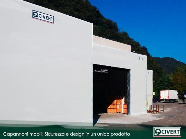 dimensioni capannoni Civert