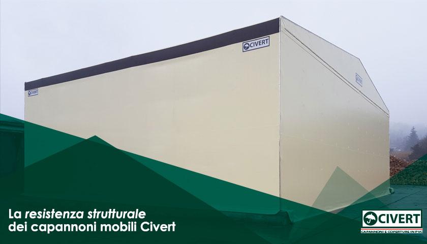 resistenza capannoni industriali pvc