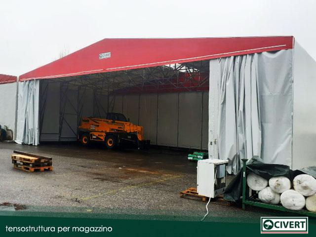 tensostruttura mobile Parma