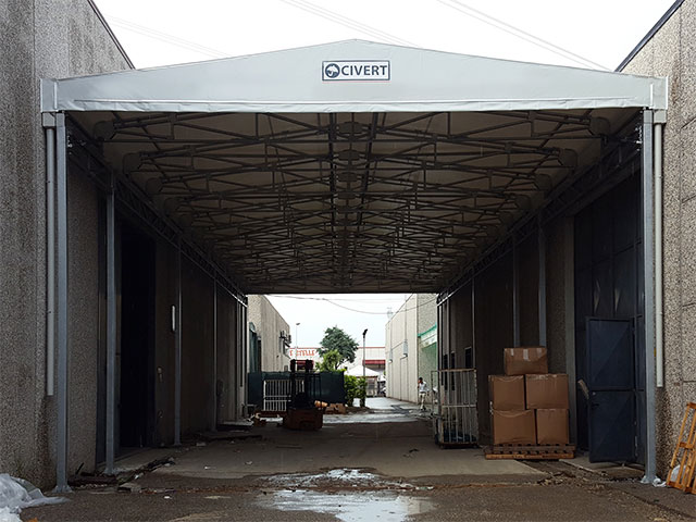 tunnel collegamento pvc biroof