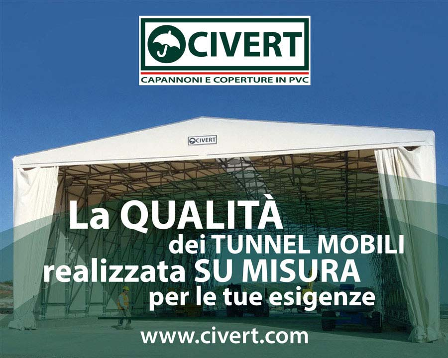 tunnel industriali pvc