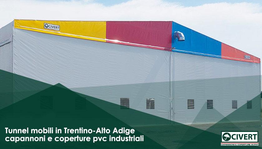 Tunnel mobili trentino alto adige capannoni industriali e for Mobili trentino